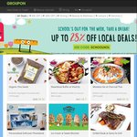 Groupon: Save 8-28% off Selected Deals with School Holidays Promo Code