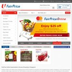 Free Delivery When You Spend over $60 at NTUC FairPrice (Cyber Monday)