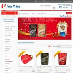 Spend $30 on Lindt Products at FairPrice and Get a 'lindt Master Bear' for Free (Online Only)