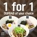 1 for 1 Dupab ($8) at Baro Baro via Qoo10