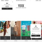 Extra 15% off Store Wide + Free Shipping at YOOX