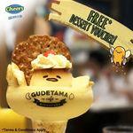 Free Gudetama Cafe Plated Dessert Voucher (U.P. $21.90) with Gudetama Mooncake Purchase for $62.40 (U.P. $78) at Cheers via Esso