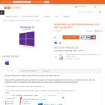 Windows 10 Pro Professional Cd-Key (32/64 Bit) - US $11.30 (~SG $15) @ G2Deal