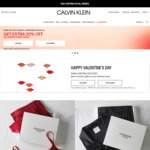 Free Red Packets on Purchases over $200 at Calvin Klein