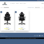 APOL Gaming Office Chair for $368 with Free Shipping (U.P. $398 +$20)