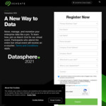 Free $10 CapitaLand e-vouchers When You Register & Attend Seagate DataSphere Virtual Event (In Full) @ Seagate
