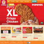 1 for 1 Burgers ($5.50) at Popeyes [Via App]