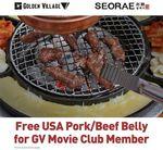 Bonus US Pork or Beef Belly with BBQ Set Menu Purchase at Seorae Korean Charcoal BBQ for GV Members (Plaza Singapura)