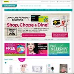 Free Delivery When You Spend Over $40 at Watsons