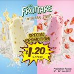 $1.20 for Fruttare with Real Fruits (U.P. $2.20) at 7-Eleven