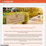 Win a One Night Stay at the Pandanctuary from foodpanda