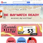 Qoo10 Coupon - $3 off When You Spend $15