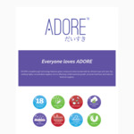 Free Sample Pack of Pads from Adore Cosmetics