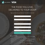FREE: 6 x Deliveroo Free Delivery Vouchers