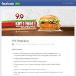 Buy 1 Free 1 Tendercrisp Chicken Burger at Burger King