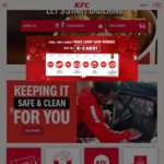 $3 off ($30 Min Spend) at KFC Delivery