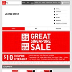 Free $10 Voucher When Spending Over $120 at UNIQLO Online