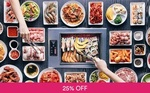 Korean BBQ Lunch Buffet + Ice Cream + Coke for $1 (U.P. $18.50) at I'm Kim Junior via Fave (previously Groupon)