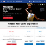 NBA League Pass 2017-2018 - 2 Day Trial Then 20% off Season - $86 SGD (VPN Required)