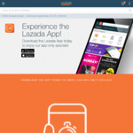 $7 off ($15 Minimum Spend) for New Customers at Lazada [App]