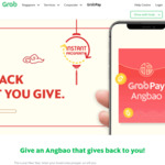 Gift an Angbao with GrabPay and Get $0.08 to $8.88 Back