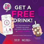 Free Iced Coffee or Tea from Ya Kun Kaya Toast (Run a Mobile Data Speed Test via IMconnected App)