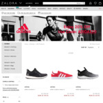 20% off Selected Women's Adidas Products at Zalora