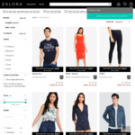35% off Selected Styles (Mid Season Sale) at Zalora