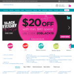 $20 off ($80 Min Spend) Sitewide at Watsons