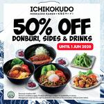 50% off on Takeaway Menu at Ichikokudo