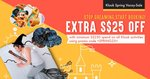 $25 Off at Klook (Min Spend $250)