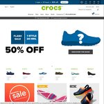 $5 off Crocs Online Purchase with Code until End March with $30 Spend