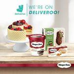 Free Delivery at Häagen-Dazs via Deliveroo