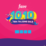 Buy a F&B Deal on Fave (previously Groupon), Get $0.20 Back in Fave Credits
