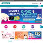 $25 off ($100 Minimum Spend) at Watsons [Members]