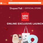 $4 off ($40 Min Spend) or $5 off ($50 Min Spend) at Miniso via Shopee