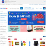 Free Picnic Mat with Min $80 Spend in One Order at FairPrice On