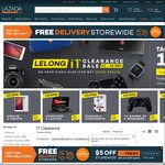Lazada - 10% off Selected Mobiles, Tablets, Computers, Laptops, Storage, Components, TVs, Gaming, AV, Wearables and Cameras