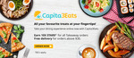 Free Delivery ($30 Min Spend) at Capita3Eats