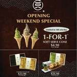1 for 1 Soft Serves ($4.90) at 108 Matcha Saro [ION Orchard]