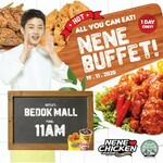 All You Can Eat Buffet for $35.90 (U.P. $39.90) at NeNe Chicken via Shopee [Redeem on 19th November]