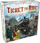 Ticket to Ride - Europe Board Game $29.77 + Free Shipping via Prime at Amazon SG