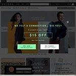 15% off Sitewide at Zalora ($100 Minimum Spend)