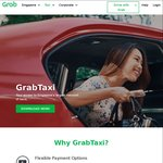 $7 off 7x GrabTaxi Rides with Grab (after Taking 2 Full Fare GrabTaxi Rides)