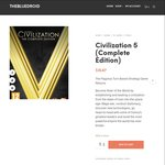 Civilization 5 (Complete Edition) $9.74 USD (~$14 SGD) - TheBlueDroid - Steam Digital Download