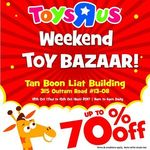 "Toys ""R"" Us up to 70% OFF Weekend Toy Bazaar"