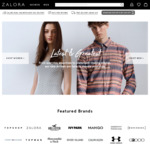 20% off Sitewide at Zalora (via App)
