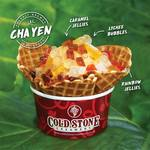 1 for 1 Thai Milk Tea Ice Cream at Cold Stone Creamery (Orchard Central)