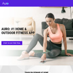 Get 30 Days Free Plus Save 10% on Audio Workouts @ Auro.fit