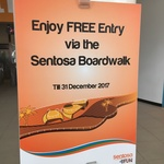 FREE Entry via the Sentosa Boardwalk